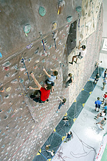 Szkola Alpinizmu W Pionie Centrum Wspinania W Pionie Sciana